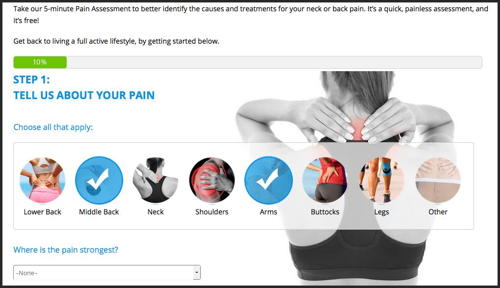 NJSO pain assessment tool