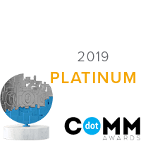 Platinum DotComm Award Winner 2019