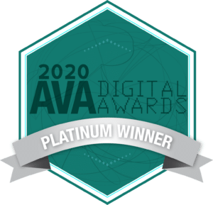 AVA Platinum Award Winner 2019