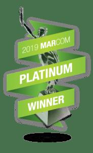 MarCom 2019 Platinum Award
