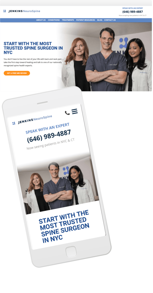 Medical Practice Website Design and Development
