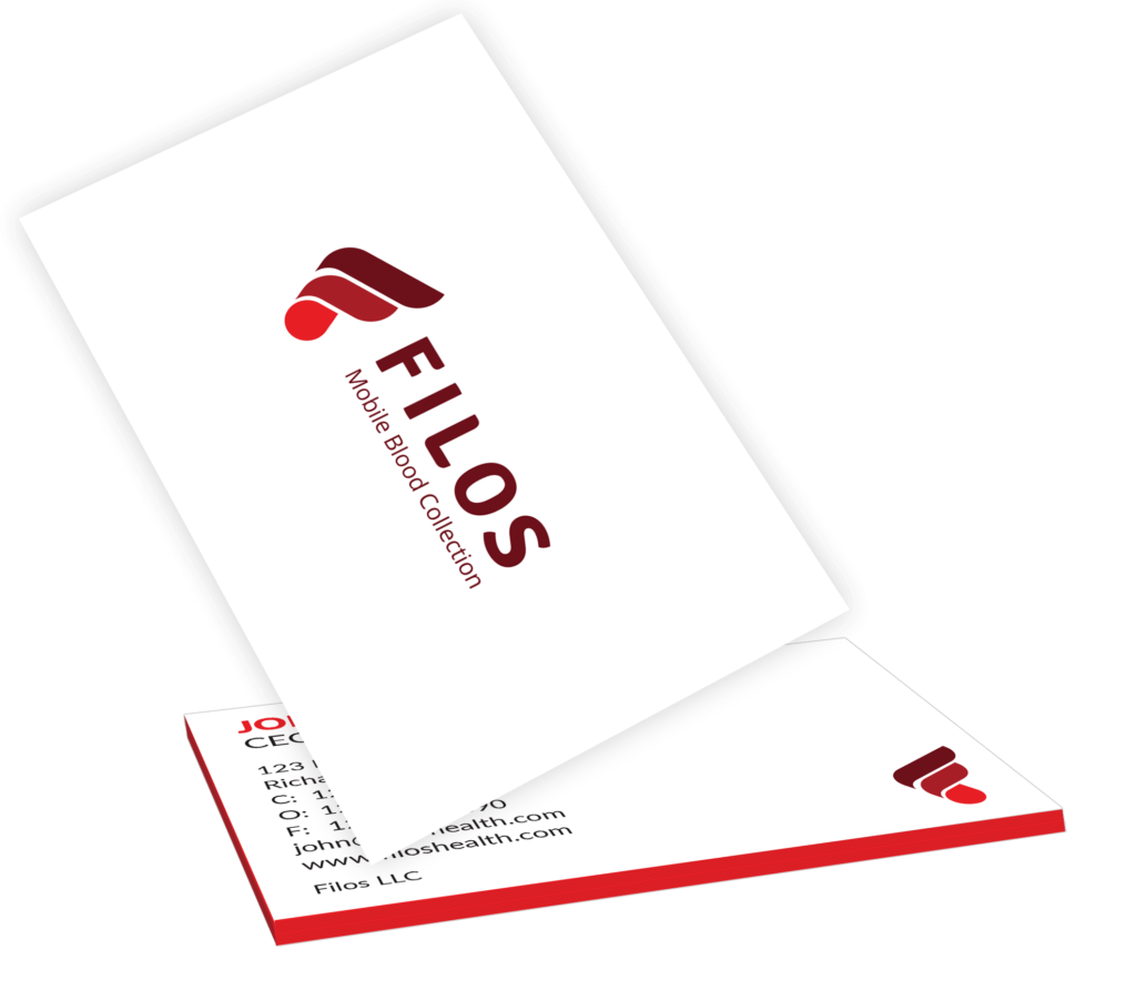 Filos Business Card Mockup